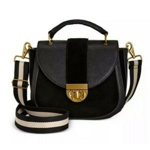 Emma Fox Dales Leather Crossbody Bag